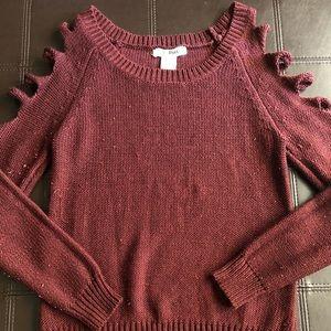 Tops - Burgundy Long Sleeve
